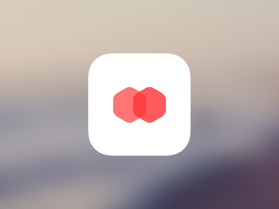 Flat icon icon simple minimalism shape flat clean overlay app iphone