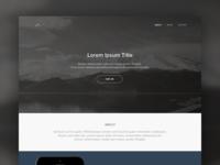 Portfolio Concept portfolio concept ui ux flat website simple minimal clean