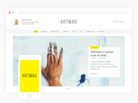 Artmag - Magazine Theme