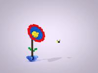 Bee-utiful flower