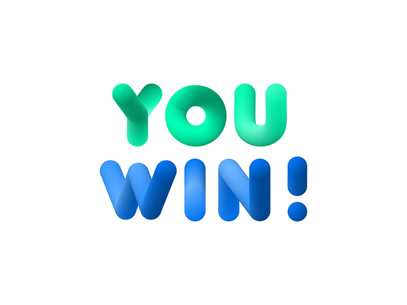 You Win 3d Bubble Letters By Andrey Radchuk Dribbble Dribbble