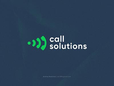 C Solutions multilanguage fintech support vector branding design modern simple logo