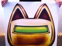 Robocat Poster
