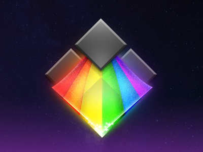 Bifrost rainbow app icon