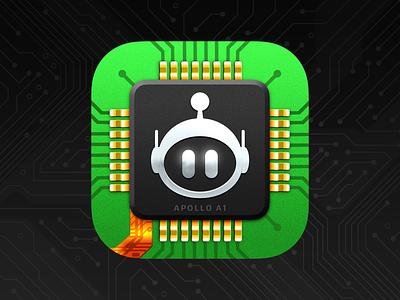 Apollo A1 robot app icon app icon