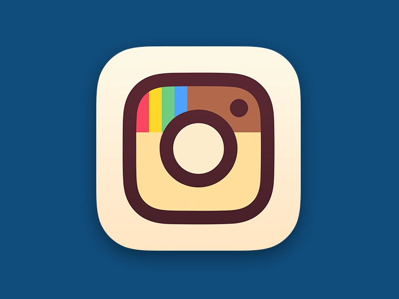 Instagram ios app icon rebrand instagram