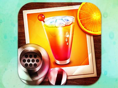 Cocktail app icon