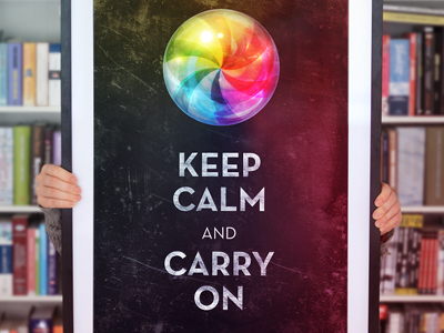 Keepcalm poster dribbble