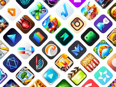 The App Icon Book icons book ios iconist design icon app