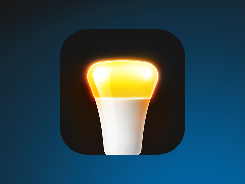 Philips Hue replacement icon app hue philips