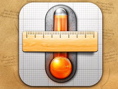 Units app icon wribbble