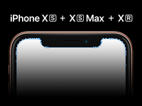 iPhone XS + XS Max + XR Template