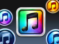 iTunes 10 Icon Set