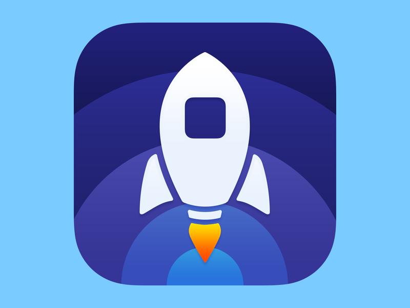 Launch Center Pro 3 launch rocket logo design app icon