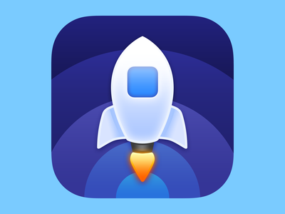 Launch Center Pro 3 Alternative logo rocket launch launch rocket app icon