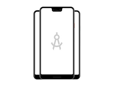 Pixel 3 XL sketch psd android app design pixel 3 xl google android
