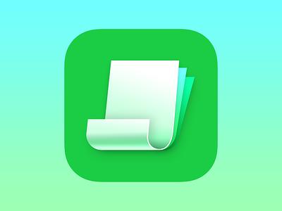 Invoice.app invoice paper app icon icon money invoicing