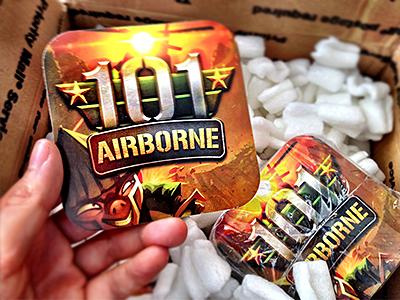 101 Airborne Stickers