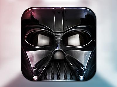 Darth Vader wars icon app