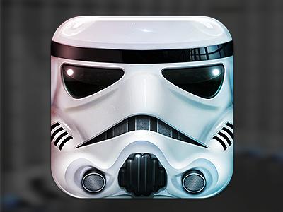 Stormtrooper wars icon app
