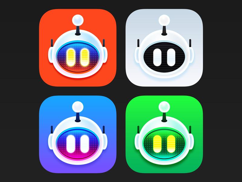 Apollo Reddit Robots icon apollo reddit robot ios app icon