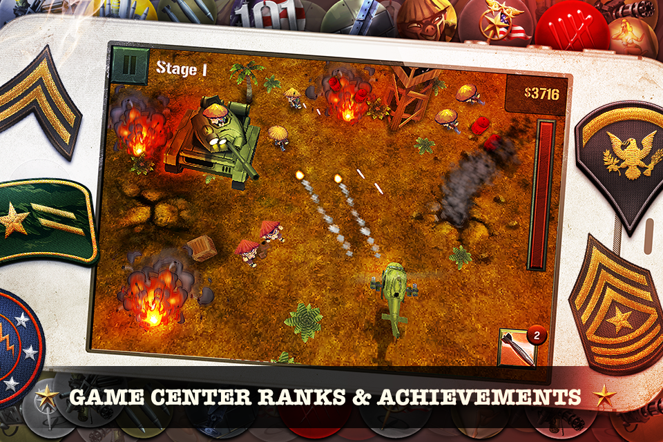 Gamecenter ranks and achievements