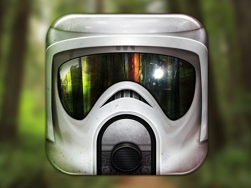 Scout Trooper wars icon app