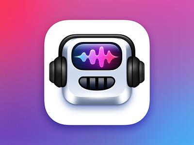 MusicBot app icon design music icon app