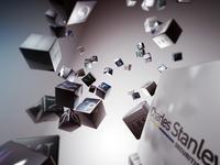Flying Blocks - 3D Composition