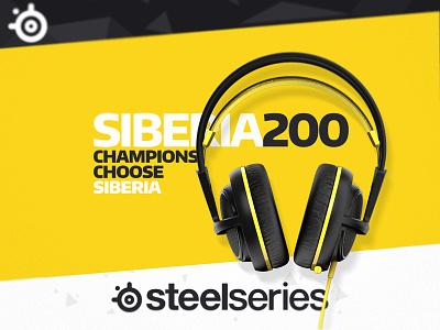 PROTON YELLOW v1 #Siberia200 yellow proton siberia200 steelseries