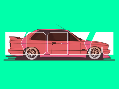 'Kocka' e30 M3