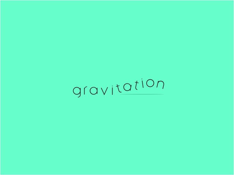Gravitaion logo  dribbble