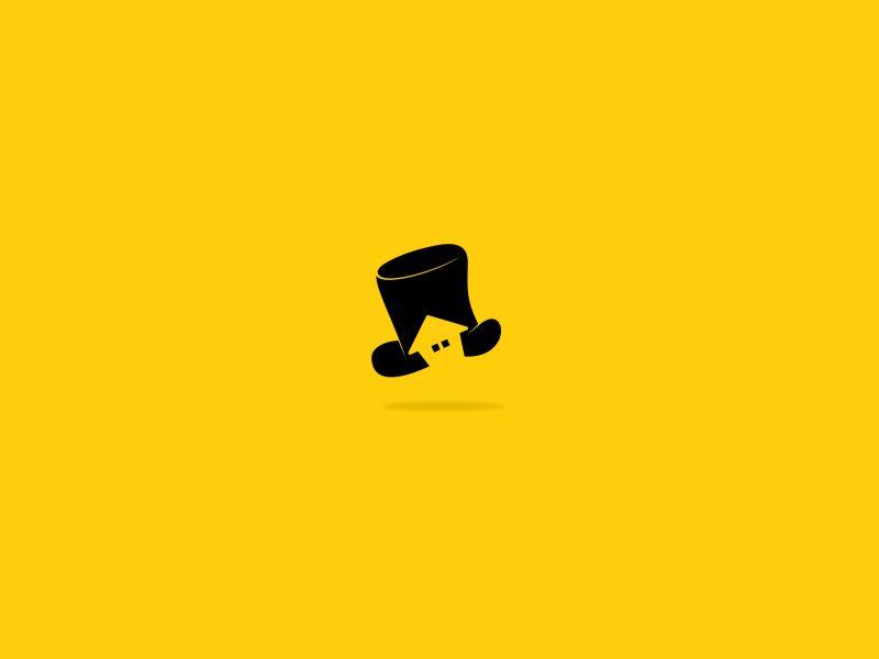 Monopoly hat house icon dribbble