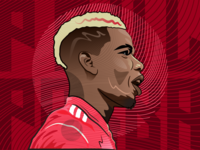 Paul Pogba Illustration.