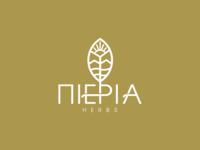 Pieria Herbs Logo Branding.