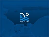 Santorini Icon Logo.