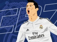 CR7 Digital Art.