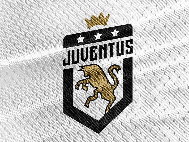 Juventus logo Crest Rebrand.