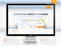 PSD to HTML Website Design