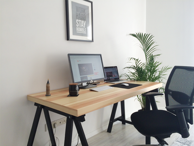 My work place at home by Emrah Demirag - Dribbble