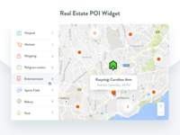 Poi Widget For Real Estate