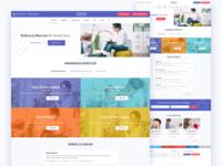 Care services website