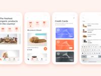 Organic products app