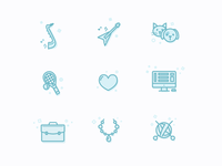 Some icons for services