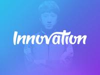 Innovation Lettering