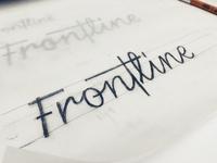Refining Frontline Logotype