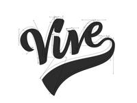 Vive Lettering / Logo Beziers