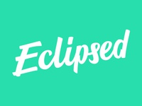Eclipsed Lettering / Logo