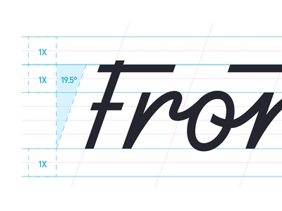 Frontline Logotype Details