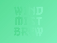 Wind Mist Brew Screensaver